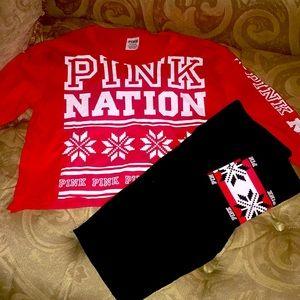 PINK NATION Yoga Set NNT